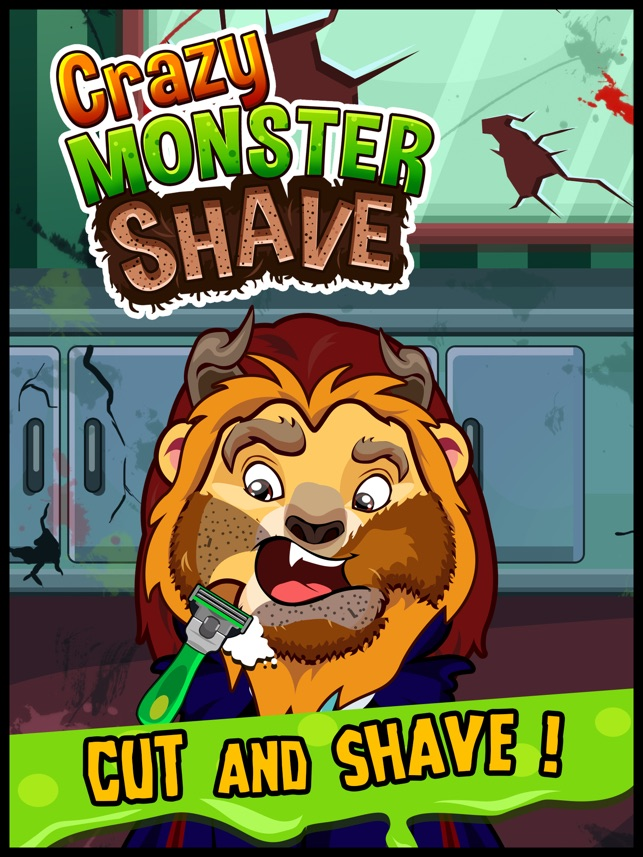 Awesome Monster Fun Shave - Virtual Shave Games for Kids Free