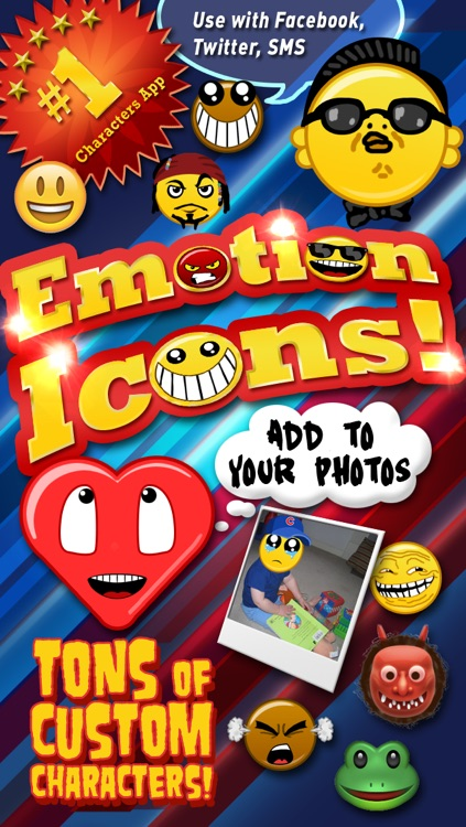 Emoji Characters and Smileys Free!