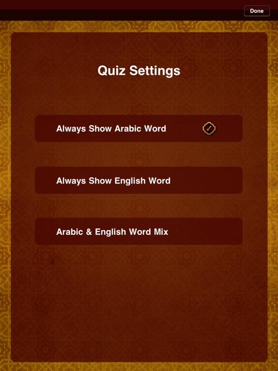 Quranic Words for iPad -- Understand the Arabic Qur'an screenshot-4