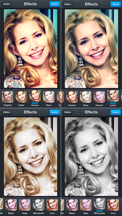 Pixirius - Best Photo Effects and Edits