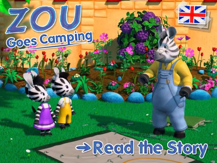 Zou goes camping