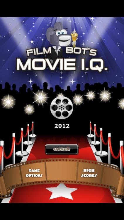 Film Bot's Movie I.Q. - 2012 Awards Edition