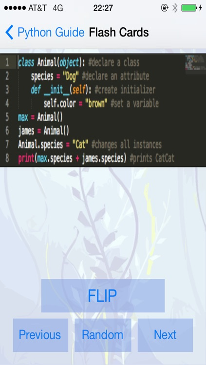 Python Tutorial and Flashcards screenshot-3