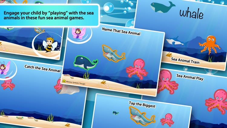 Toddlers First Words 3: Sea Animals Lite screenshot-3