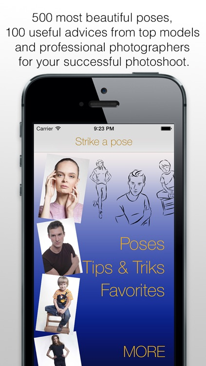 Strike a pose - posing guide or photo posing tutorial for photographer and fashion model