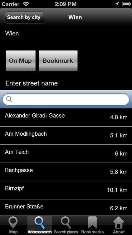 Offline Map Vienna, Austria: City Navigator Maps screenshot-3