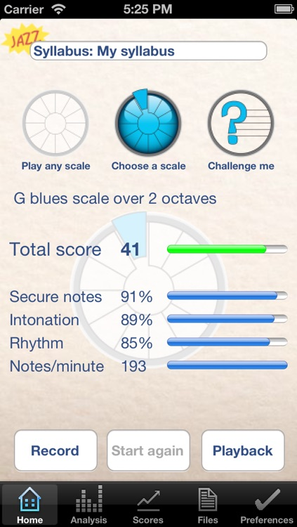 Jazz ScaleHelper Lite screenshot-1