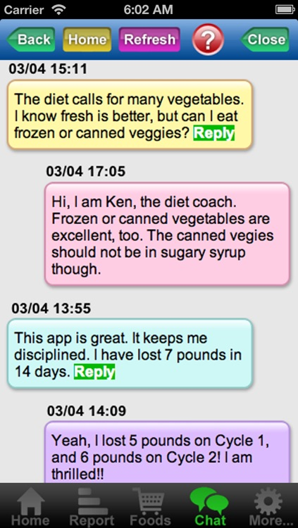 Diet Coach for 17 Day Diet screenshot-3