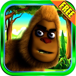 Bigfoot Swing - Crazy Sasquatch Adventure Physics Game Free
