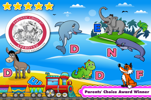 Abby Phonics: Kindergarten Reading Adventure for Toddler Loves Train screenshot 1