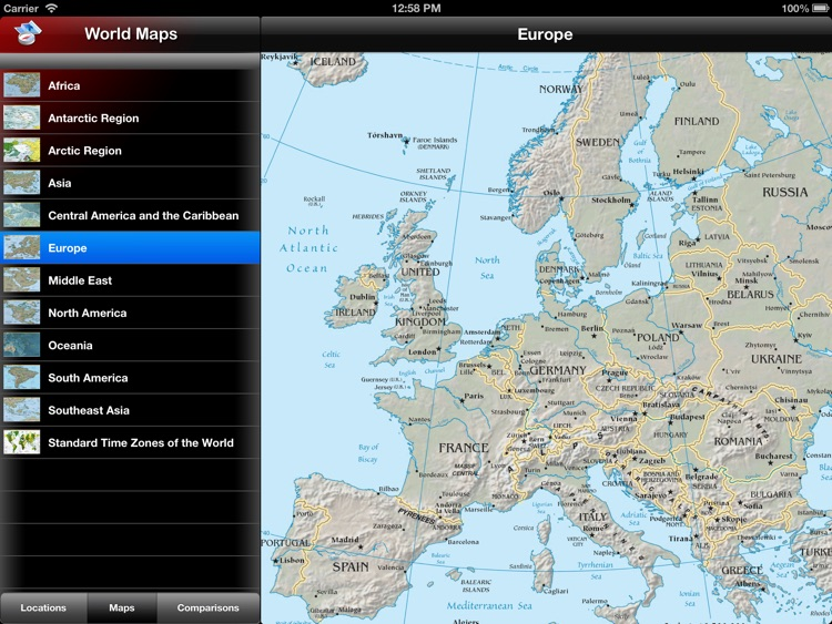 The World Factbook for iPad screenshot-3