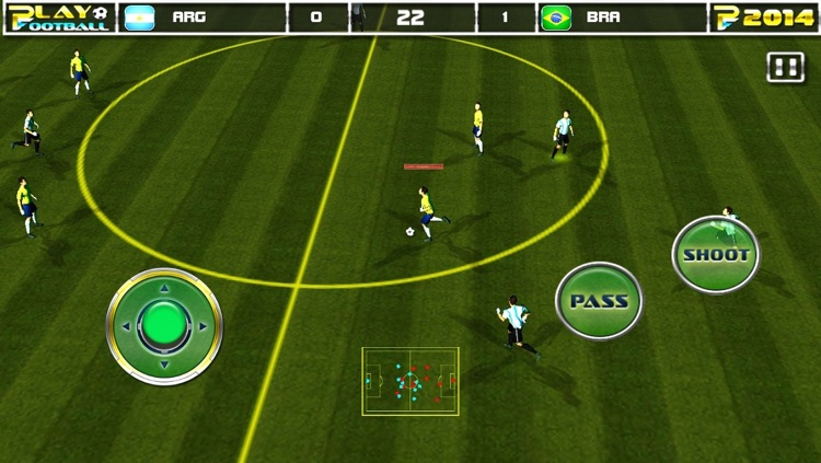 Play Football 2014 Real Soccer - Fantasy Simulation and a Comprehensive Manager Sports Game For iPhone and iPad Pro screenshot-1