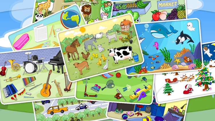 Shape Puzzle - Word Learning Game for Kids screenshot-4