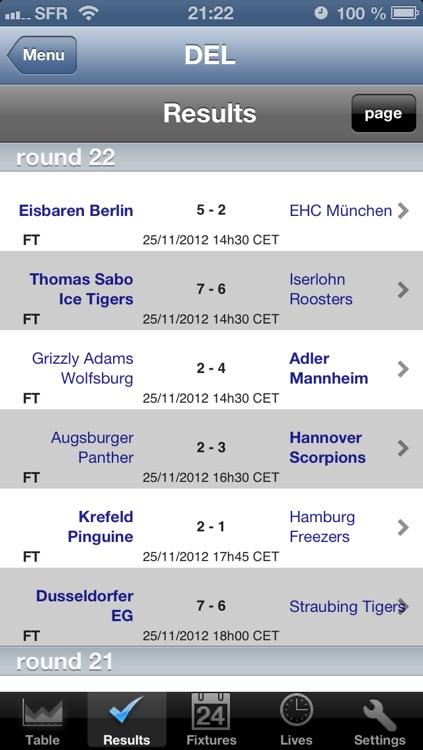 DEL - 2. Bundesliga - Ice Hockey [Germany]