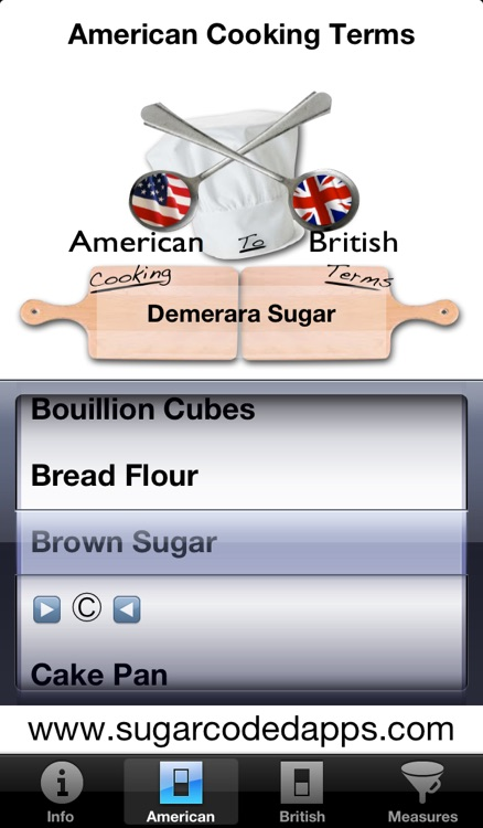 British/American Cooking Converter