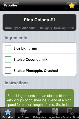 8,500+ Drink & Cockta... screenshot1