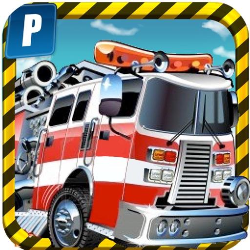 A Fire Truck Parking Simulator PRO - Full Expert Driver Version