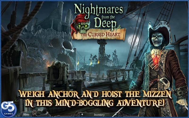 点击获取Nightmares from the Deep: The Cursed Heart, Collector's Edition