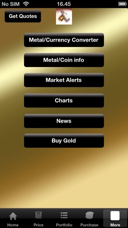 Gold and Silver Bullion Tracker screenshot-3