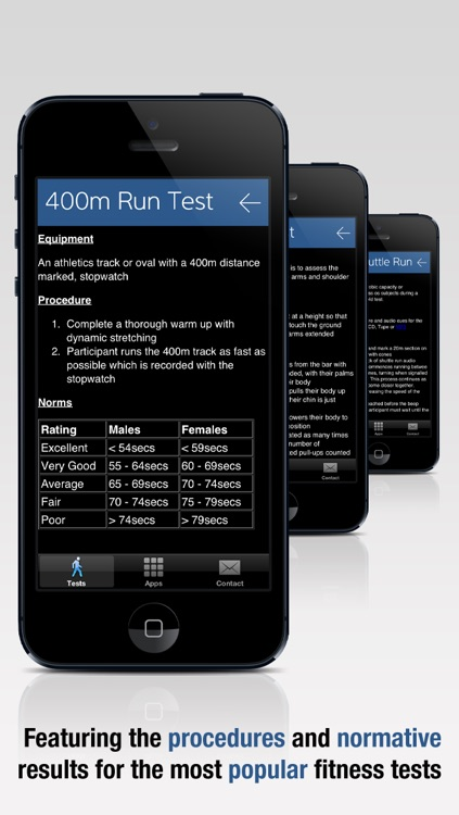 Fitness Tests - For PE Teachers and Coaches