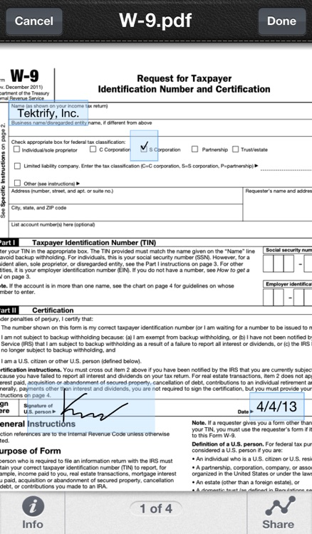 SignPDF - Quickly Annotate PDF screenshot-4