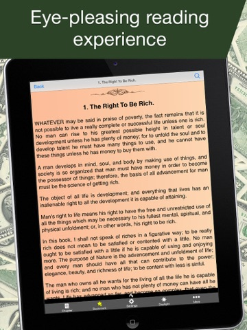 Screenshot of The Science of Getting Rich  (Wallace D. Wattles)