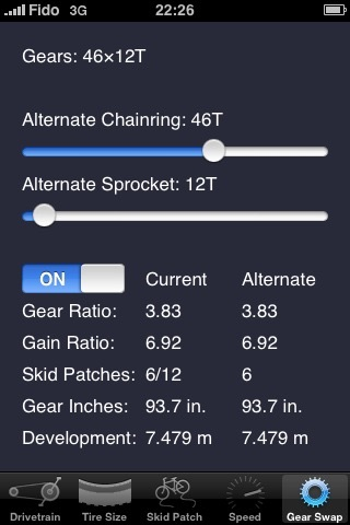 Bicycle Gear Calculator — Bike Gears screenshot-4