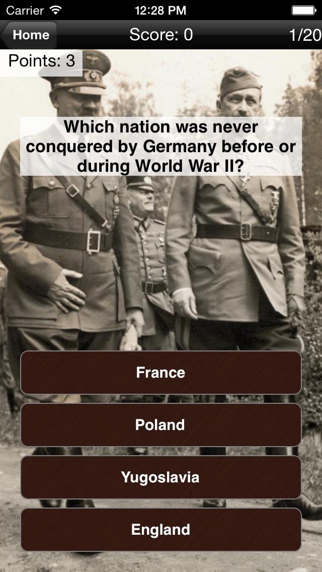 Hitler's Germany: History Challenge Screenshot
