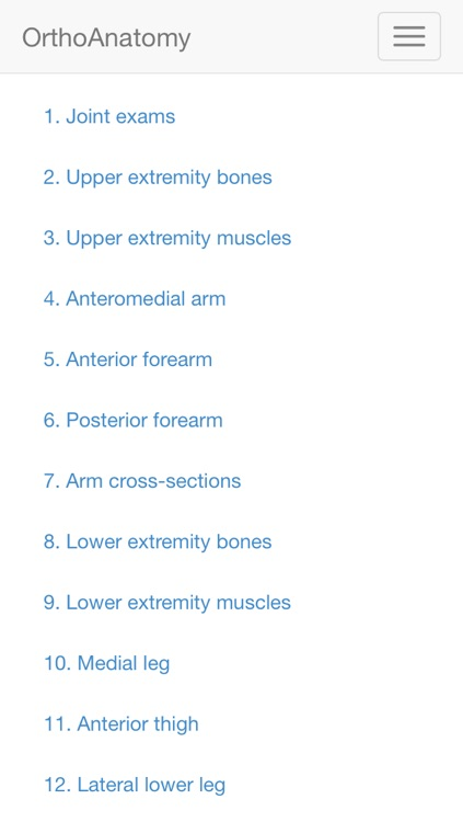 OrthoAnatomy 2014 edition