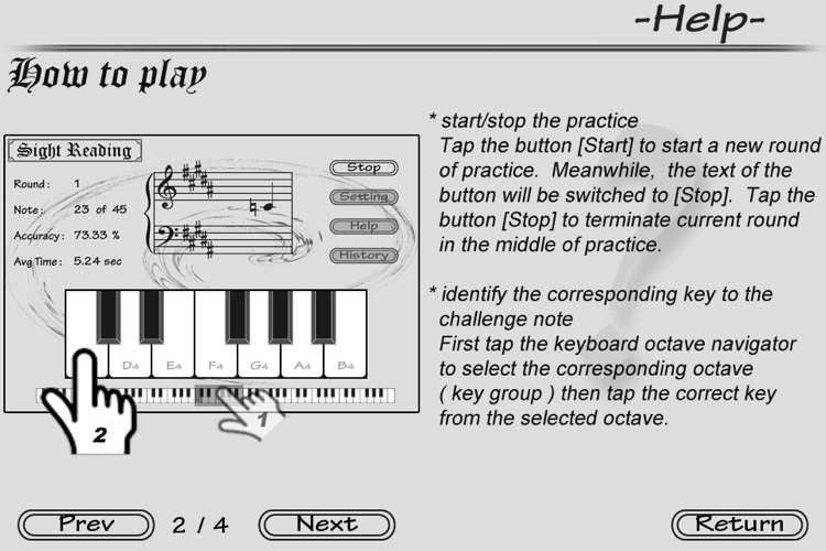 Piano Sight Reading - Free screenshot-4