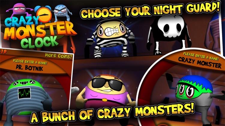 Crazy Monster Clock