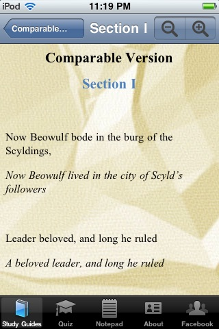 Beowulf In Plain and Simple English