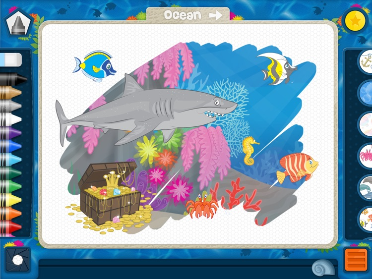PixieDust Lite - A Creative Drawing and Painting App for Kids, Free for iPad screenshot-4