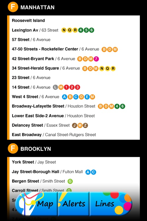 My Subway NYC screenshot-3