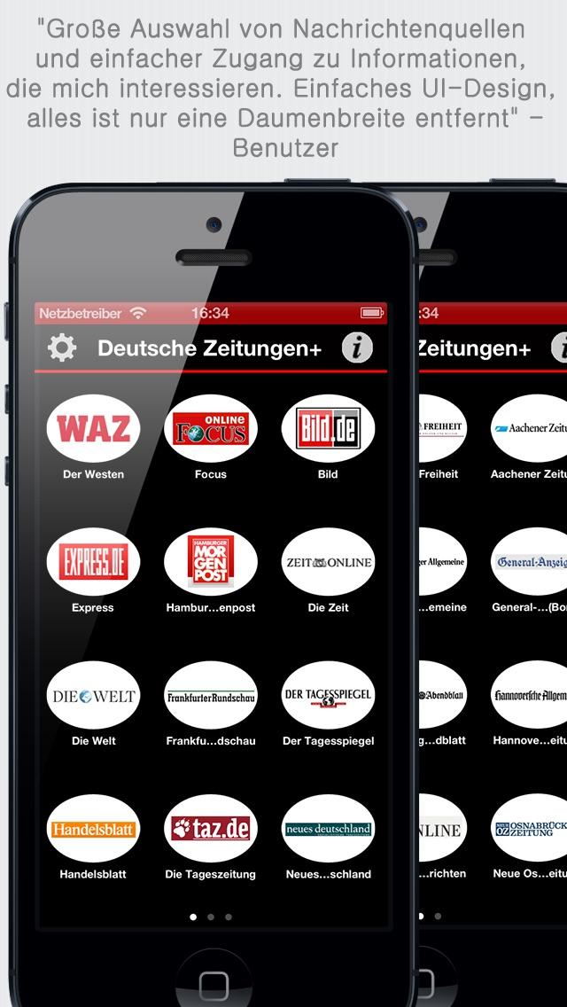Deutsche Zeitungen - ... screenshot1