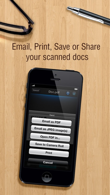 LazerScanner - Scan multiple doc to pdf and auto upload to Dropbox Free screenshot-3