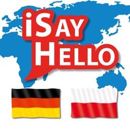 iSayHello German - Polish