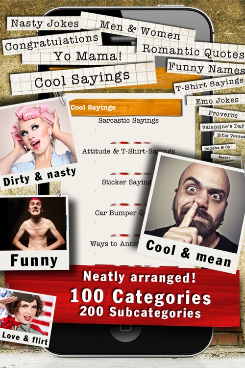 88,000 Sayings & Jokes - Funny Catalog