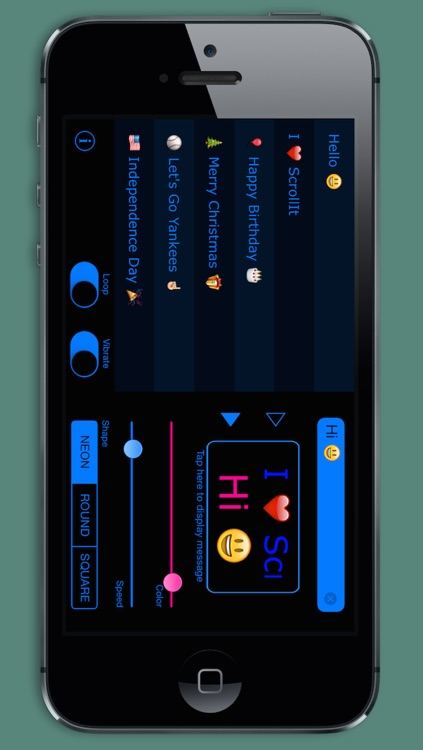ScrollIt 2X: display scrolling messages screenshot-0