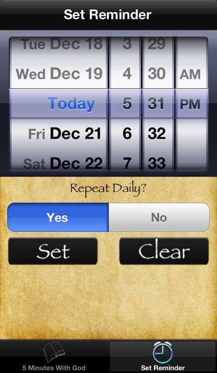 5 Minutes With God screenshot-3
