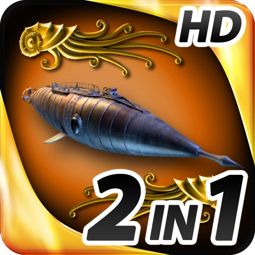 Hidden Objects - 2 in 1 - Jules Verne Pack HD