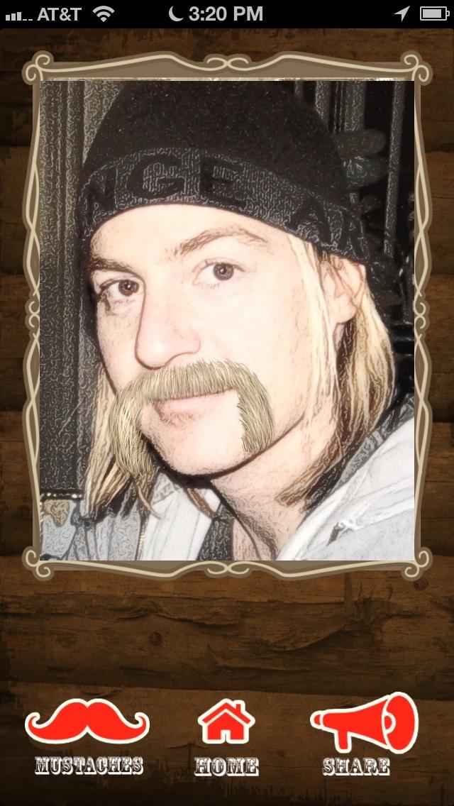 The Mustache App