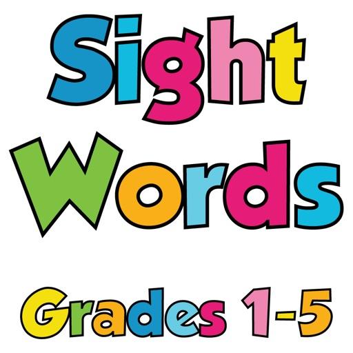 Sight Words Grade 1-5 HD