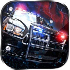 2D Fast Police Car Chase Game   Free Real Speed Driving Racing Games 4+