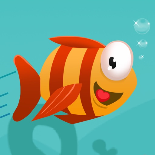 Flappy Mega Fish: Frozen Baby Bird Fish Adventure Pro - Fun Games For Girl Boy and Kids