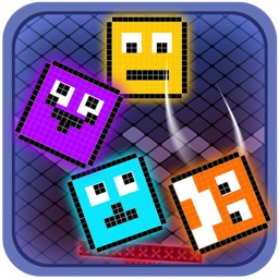 Neon Pixel Block Up Stacker FREE - Cool Tower Builder Mania
