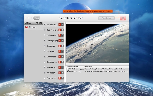 Duplicate Files Finder Screenshot