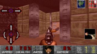 iPad - Gameception - Doom engine FPS (by Nathaniel Herman