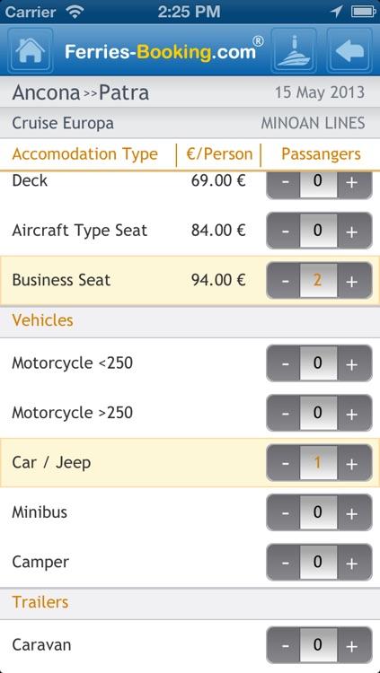 Ferries-Booking screenshot-3