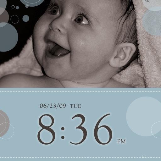 My Baby Clock